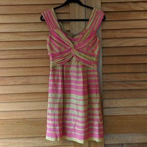 Nanette Lepore striped linen dress